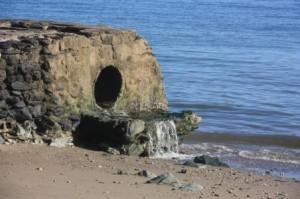 Drain At Beach1 300x199 Government allocates 1.500.000 USD to Díli Sanitation & Drainage Masterplan