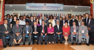 VIPs and Heads of Delegation at Dili International Conference