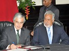 Portugal's National Defence Minister visits Timor-Leste for a bilateral meeting