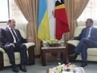 Embaixador da Ucrânia visita Timor-Leste