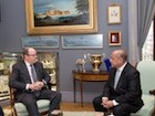Ministro de Estado Agio Pereira em visita de trabalho ao Mónaco
