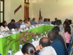 Prime Minister and President for the Authority of Oe-Cusse conduct the first meeting of the Coordination Committee