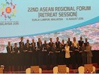 Minister of Foreign Affairs and Cooperation holds bilateral meetings at the ASEAN Forum and participates in Southwest Pacific Dialogue
