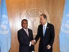 Primeiro-Ministro reúne-se com Secretário-Geral das Nações Unidas em Nova Iorque