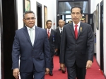 Visita do Presidente da República da Indonésia, Joko Widodo, ao Palácio do Governo