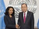 Ambassador presents credentials to UN Secretary-General