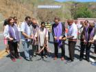 Ministério das Obras Públicas inaugura a estrada de Hali-Laran a Laulara