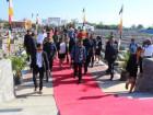 Cerimónia de honras fúnebres a mártires da Libertação Nacional em Liquiçá