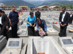 Burial honours ceremony for martyrs of National Liberation, in the Garden of Heroes of Liquiça, on June 14th, 2017