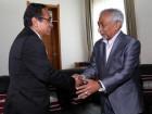 Primeiro-Ministro realiza primeiro encontro semanal com o Presidente da República