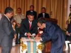 VII Governo Constitucional completo com a tomada de posse de 5 membros