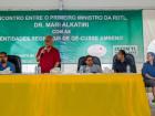 Diálogo com a comunidade da Região Administrativa Especial Oé-cusse Ambeno