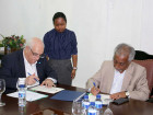 Government signs contract for fiber optic supply in its Public Administration
