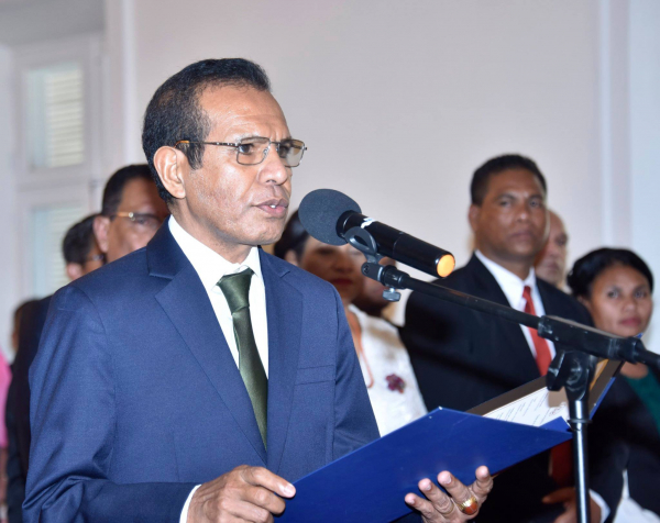 Swearing-in ceremony of the Eighth Constitutional Government