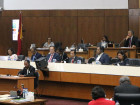 Presentation of the Eight Constitutional Government Program at the National Parliament