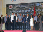 Ceremony to launch the construction of the Port of Tibar