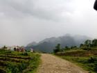 Road rehabilitation work in Baguia begins