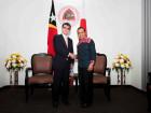 Ministro dos Negócios Estrangeiros do Japão visita Timor-Leste
