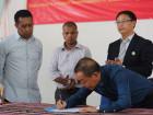Governo assina parceria para produção de camarão no município de Ainaro