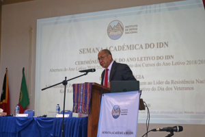 IMG 7740 300x200 IDN promotes debate on Strategy and honors Xanana Gusmão within the academic week of the institute