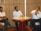 Government meets with heads of media organizations