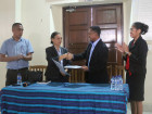 Public Service Commission receives equipment from the Presidency of the Council of Ministers