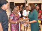 Retired staff and teachers receive certificate