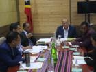 Reunião da Comissão Interministerial para a negociação do apoio financeiro à requalificação do Aeroporto de Díli