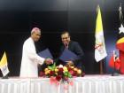 Governo assina acordo de subvenção anual com a Conferência Episcopal Timorense