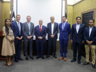 Government receives representatives of ConocoPhillips and Santos Limited