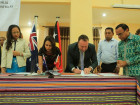 Government of Timor-Leste Signs Agreement with Government of Australia