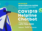 Ministry of Health launches instant messaging service by WhatsApp (Chatbot) for information on COVID-19