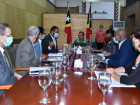 Government meets with development partners to discuss the plan for socio-economic recovery and national development