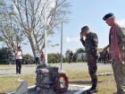 Chefe do Estado-Maior-General das F-FDTL participa na cerimónia do vigésimo aniversário do militar neozelandês morto em Cova Lima