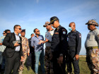 Vice-Ministro do Interior visita postos fronteiriços de Bobonaro