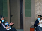 Minister of the Presidency of the Council of Ministers and American Diplomat discuss cooperation projects