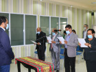 Swearing in of the President and members of the Directing Council of the National Press