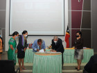 Signature of the Budget Allocation Transfer Agreement to the RAEOA and Launch of the Use of the Integrated Financial Management Information System or GRP by the RAEOA and ZEESM Authority