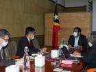 Ministru Prezidénsia Konsellu Ministrus hala'o soru,utuk ho responsável IFC iha Timor-Leste