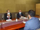 Ministro da Presidência do Conselho de Ministros reúne com Embaixadores da União Europeia e de Portugal no âmbito da Conferência da ONU sobre o Clima