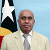 Minister of State, Coordinator of Economic Affairs and Minister of Agriculture and Fisheries - Estanislau da Silva